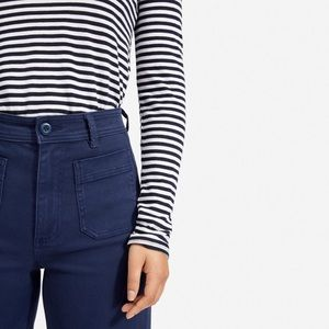 Everlane The Wide Leg Crop Patch Pocket Pant